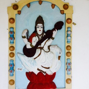 The Goddess Sarasvati Goddess of Knowledge and Art hindutemple grandebaiehellip